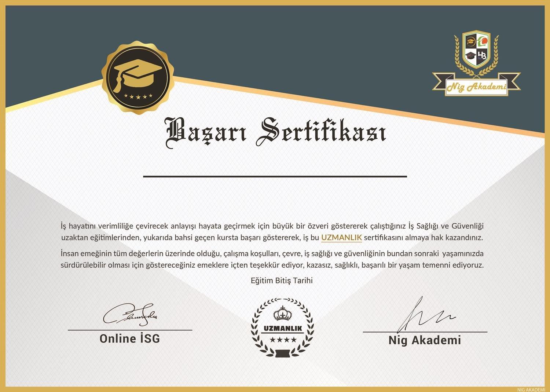 Online İSG Eğitimleri Başladı 2